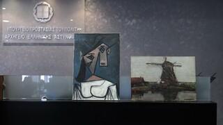 Διενέργεια τεχνικής πραγματογνωμοσύνης στους πίνακες Πικάσο και Μοντριάν για τη γνησιότητά τους