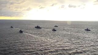 Στο πλευρό της Βρετανίας η Γαλλία για τις εντάσεις στη Μαύρη Θάλασσα