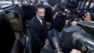 Reuters: Ο Τζον ΜακΆφι αποπειράθηκε να αυτοκτονήσει μήνες πριν πεθάνει σε ισπανική φυλακή