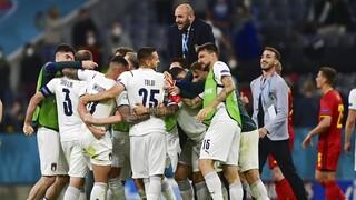 Euro 2020: Στους «4» η Ιταλία - Απέκλεισε το Βέλγιο και έδωσε ραντεβού με την Ισπανία στον ημιτελικό