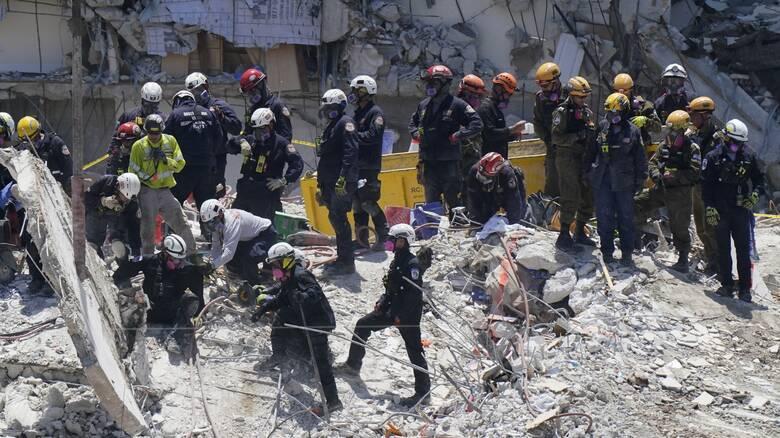 Κατάρρευση κτηρίου στη Φλόριντα: Αυξήθηκε ο αριθμός των νεκρών - 126 οι αγνοούμενοι