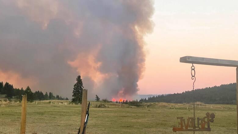 Καναδάς: Καταστροφικός ο καύσωνας -  Εξαφανίστηκε πόλη από τις φωτιές