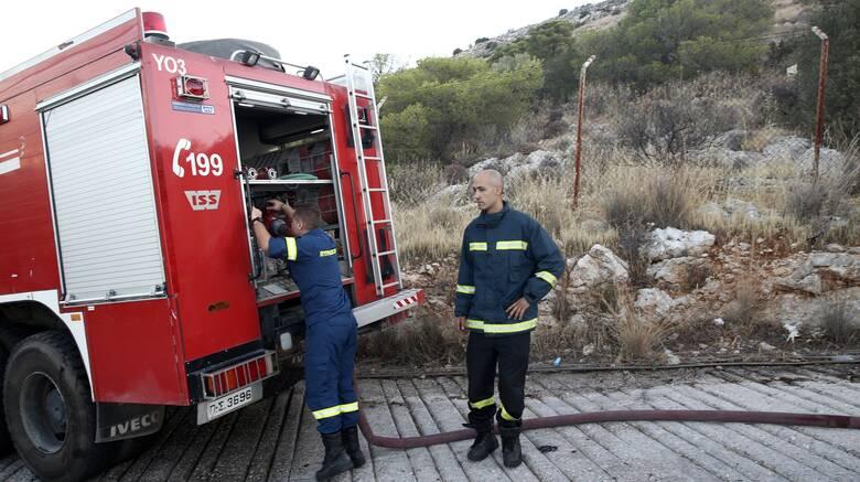 Φωτιά στη Συκάμινο Ωρωπού: Καλύτερη η εικόνα - Δεν απειλήθηκαν σπίτια