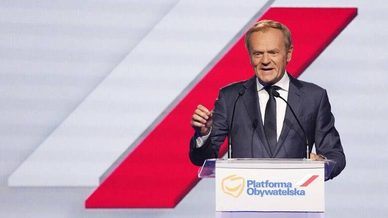 Πολωνία: Ο Ντόναλντ Τουσκ στην ηγεσία του αντιπολιτευόμενου κόμματος PO