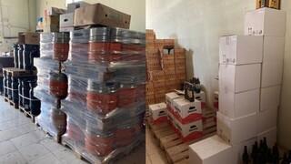 ΑΑΔΕ : Επιχείρηση «Καθαρά Ποτά»: Κατάσχεση 54 τόνων νοθευμένων ποτών σε 48 ώρες
