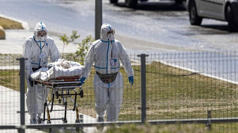Κορωνοϊός - Ρωσία: Εκτός ελέγχου η κατάσταση με 25.142 κρούσματα και 663 θανάτους σε ενα 24ωρο
