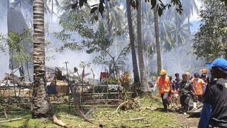 Συντριβή C-130 στις Φιλιππίνες: Στους 45 οι νεκροί, 50 οι διασωθέντες από τα συντρίμμια