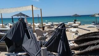 Χαλκιδική: Ανεμοστρόβιλος «σάρωσε» τα Νέα Μουδανιά - Τρεις τραυματίες