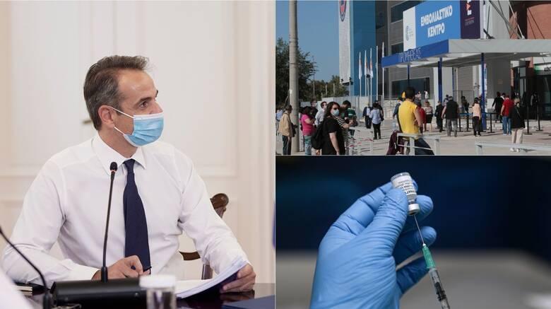 Εμβολιασμοί - Κορωνοϊός: Μάχη της χώρας με τον χρόνο και κατά της μετάλλαξης Δέλτα