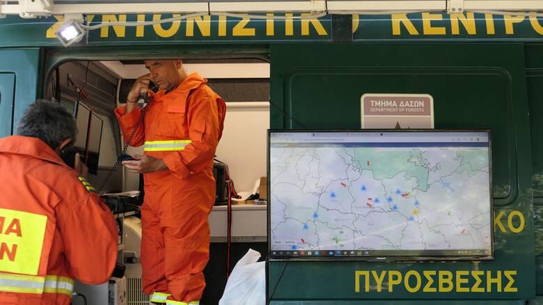 Κύπρος: Νέο μέτωπο φωτιάς κοντά σε σπίτια - Συναγερμός στην Πυροσβεστική