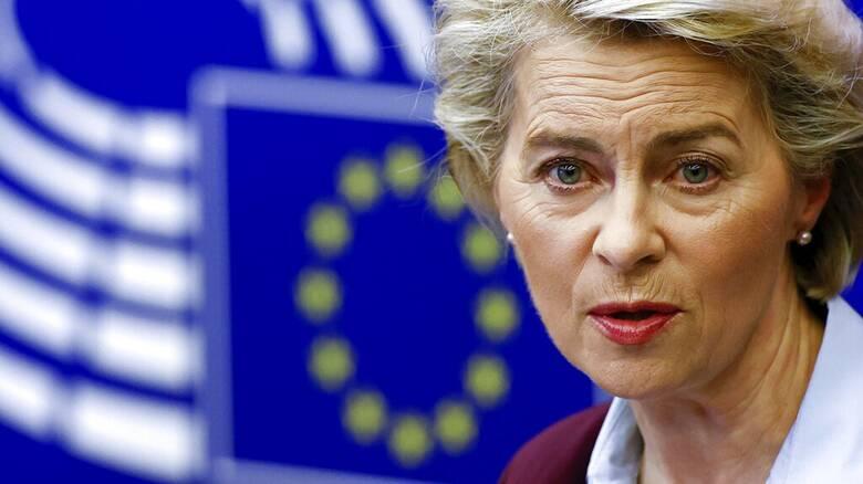 Ούρσουλα φον ντερ Λάιεν προς Ερντογάν: Η ΕΕ δεν θα δεχθεί ποτέ λύση δύο κρατών στην Κύπρο
