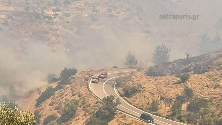 Δραματική η κατάσταση στη Χίο: Εκκενώθηκαν οικισμοί, ενισχύονται οι δυνάμεις