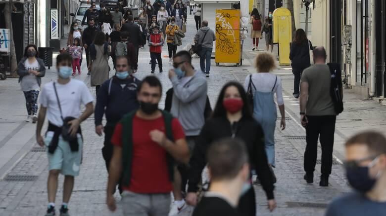 Κορωνοϊός: Στο «πορτοκαλί» ο νότιος τομέας Αθηνών - Ποιοι άλλοι νομοί αλλάζουν κατηγορία