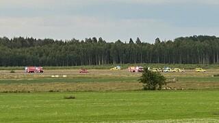 Συντριβή αεροσκάφους στη Σουηδία με εννέα επιβαίνοντες λίγο μετά την απογείωση