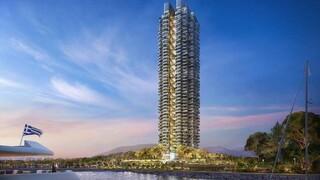 Ελληνικό: Mεγάλο ενδιαφέρον για τα διαμερίσματα του πρώτου πράσινου ουρανοξύστη στην Ελλάδα