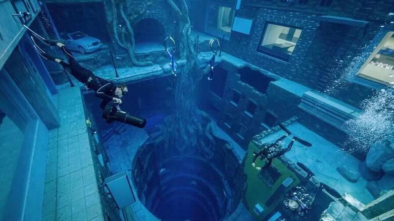 Στο Ντουμπάι η βαθύτερη πισίνα του κόσμου - Τμήμα μιας τεράστιας υποβρύχιας πόλης
