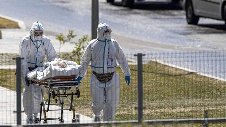 Ρωσία- Κορωνοϊός: 25.766 νέα κρούσματα και 726 νεκροί
