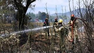 Κύπρος: Υπό πλήρη έλεγχο η φωτιά στο Πέρα Πεδί Λεμεσού