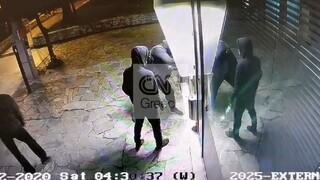 Αποκλειστικό CNN Greece: Καρέ - καρέ η δράση της συμμορίας που ανατίναζε ATM