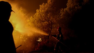Φωτιά στην Λευκίμμη Σουφλίου: Δύσκολη νύχτα για τις πυροσβεστικές δυνάμεις στον Έβρο