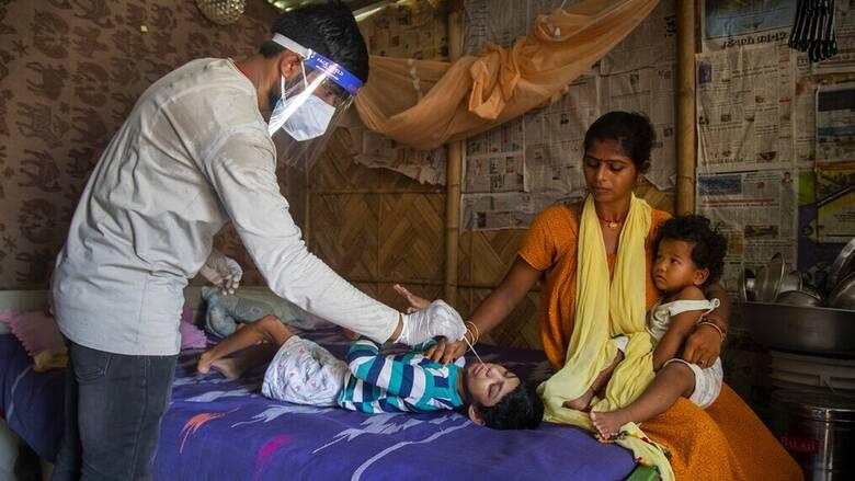 Ινδία: Άλλοι 1.206 θάνατοι εξαιτίας της COVID-19
