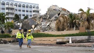 Κατάρρευση πολυκατοικίας στη Φλόριντα: 79 νεκροί - 60 αγνοούμενοι