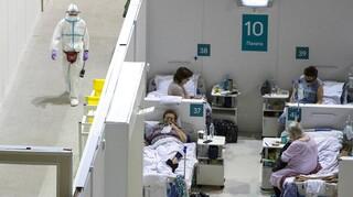 Ρωσία: Ρεκόρ 752 θανάτων από COVID-19 σε ένα 24ωρο