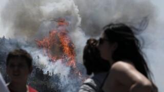 Συναγερμός στην Εύβοια: Μήνυμα από το 112 για άμεση εκκένωση του Νημποριού