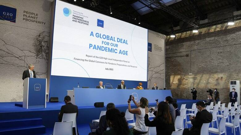 Σύνοδος G20 - Deutsche Welle: «Οι πανδημίες δεν τελειώνουν»