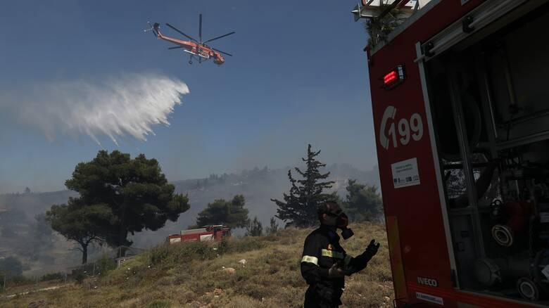 Πυρκαγιά στο Πανόραμα Βούλας
