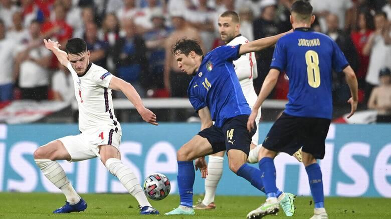 Euro 2020: Στα πέναλτι ο τελικός Ιταλία-Αγγλία 3-2 (1-1 κανονική διάρκεια και παράταση)
