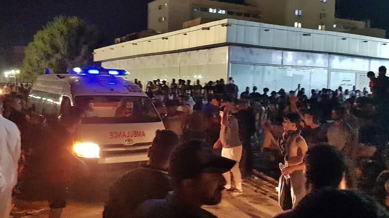 Οργή για τη νέα πυρκαγιά σε νοσοκομείο Covid-19 στο Ιράκ - Στους 64 οι νεκροί