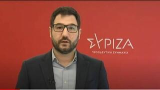 Ηλιόπουλος: Η κυβέρνηση έχει αποτύχει – Αντί για ενίσχυση του ΕΣΥ σχεδιάζει κλείσιμο νοσοκομείων