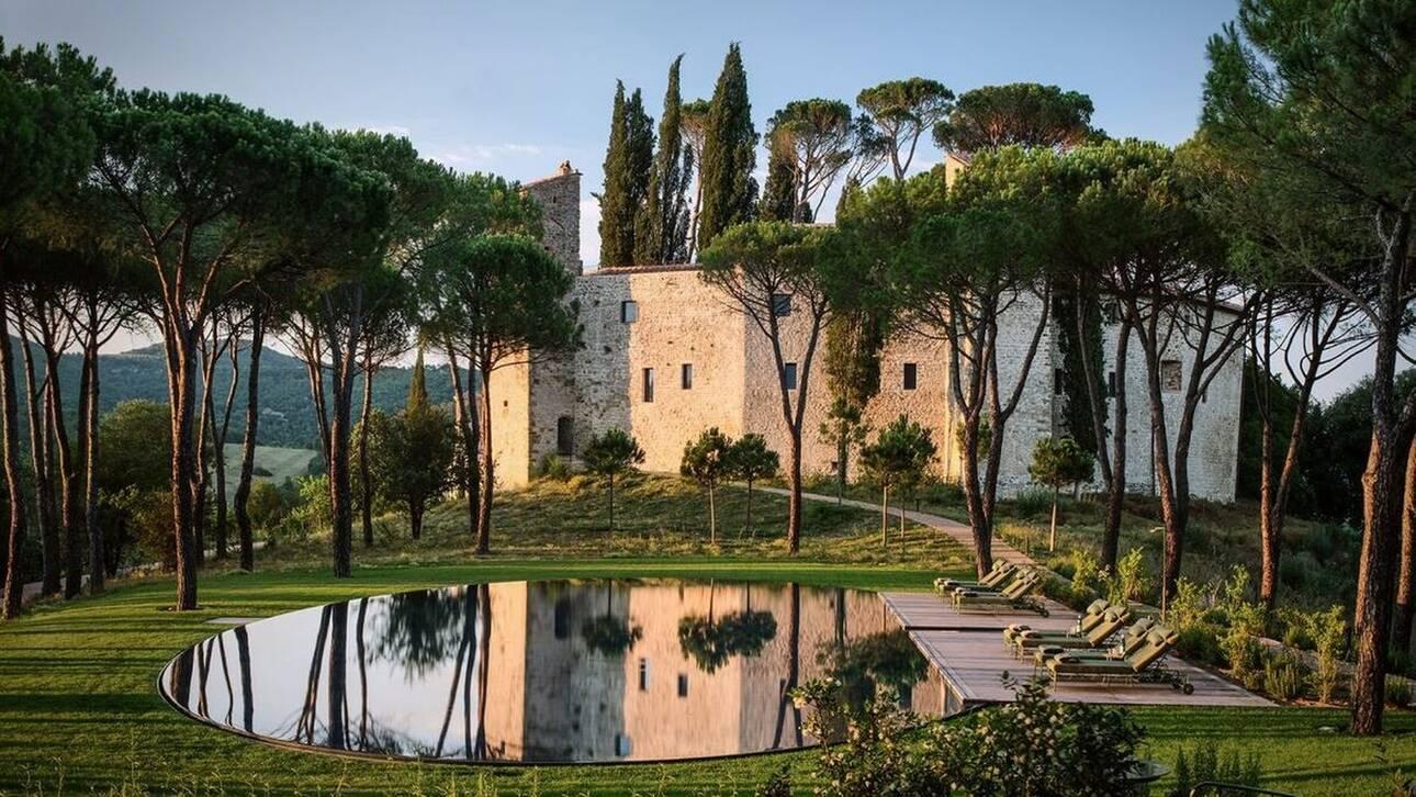 Ιταλία: Ένα κάστρο του 10ου αιώνα μετατράπηκε σε πολυτελές ξενοδοχείο
