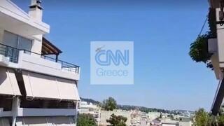 Φωτιά στην Παλλήνη: Ισχυρές δυνάμεις της πυροσβεστικής στην περιοχή