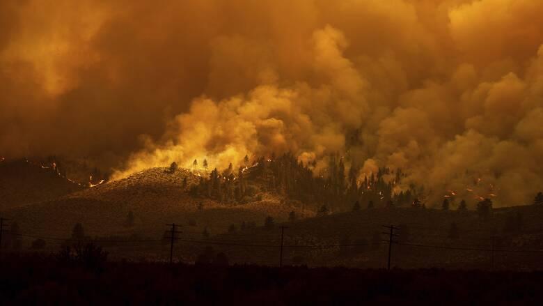 Η βιβλική καταστροφή της Καλιφόρνια και ο ρόλος της κλιματικής αλλαγής