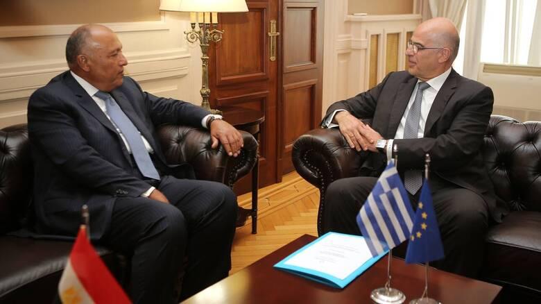Επικοινωνία Νίκου Δένδια με τον υπουργό Εξωτερικών της Αιγύπτου