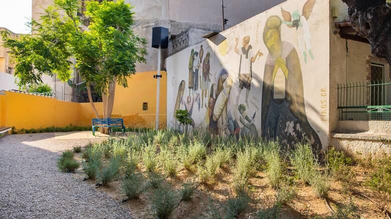 H P&G συνεχίζει το έργο της για πιο βιώσιμες πόλεις, δημιουργώντας σε λίγους μήνες τρία πάρκα τσέπης