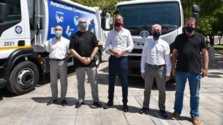 Δήμος Αθηναίων: Με στόλο 23 νέων οχημάτων και 3.023 μπλε κάδους στη μάχη για την ανακύκλωση