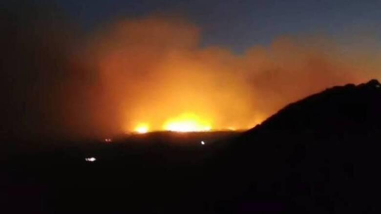 Φωτιά στη Σάμο: Ολονύχτια μάχη με τις φλόγες - Εκκενώθηκαν προληπτικά  ξενοδοχεία και σπίτια - CNN.gr