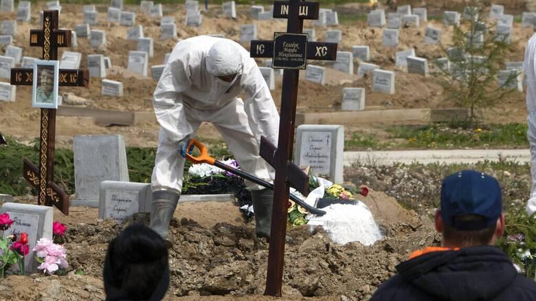Ρωσία- Κορωνοϊός: Ρεκόρ θανάτων για τέταρτη συνεχόμενη ημέρα