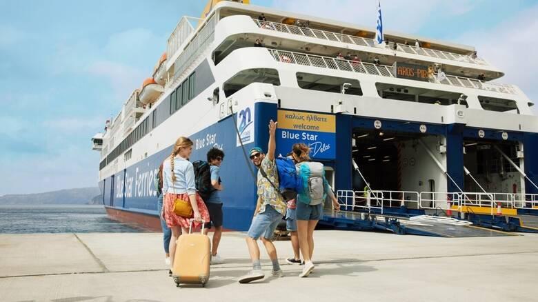 Η απόλυτη εμπειρία διακοπών ξεκινά με λίγα «κλικ» στη Blue Star Ferries