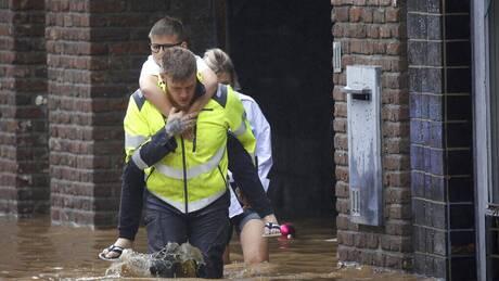 Εικόνες καταστροφής στην Ευρώπη: Εκατόμβη από τις πλημμύρες, 1.300 αγνοούμενοι