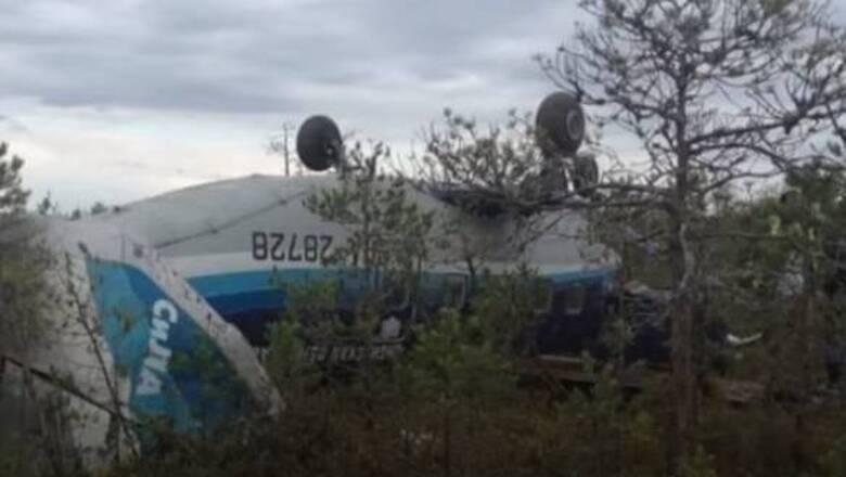 Ρωσία: Σώθηκαν όλοι οι επιβάτες του αεροσκάφους που έπεσε - Για «θαύμα» μιλούν οι Αρχές