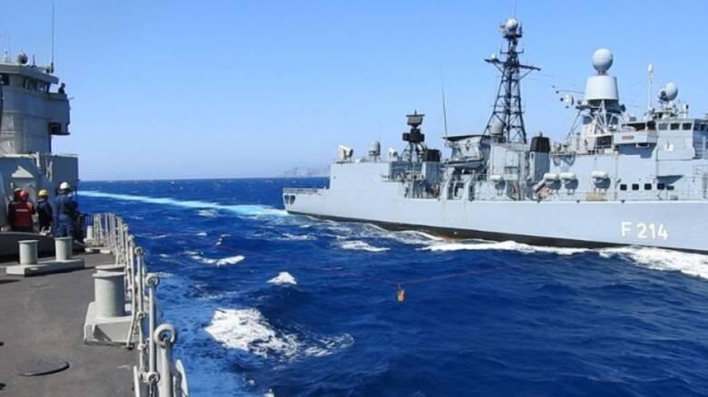 ΓΕΝ: Συνεκπαίδευση ναυτικών δυνάμεων Ελλάδας - Γερμανίας στο Αιγαίο