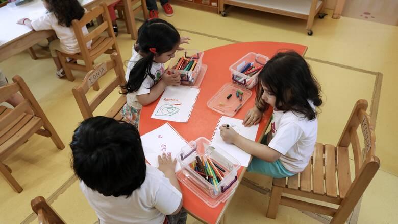 Παιδικοί σταθμοί: Τη Δευτέρα ξεκινά η ηλεκτρονική υποβολή αιτήσεων