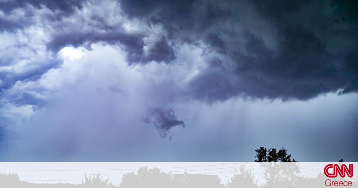 «Ψυχρή λίμνη»: Βροχές, καταιγίδες και πτώση της θερμοκρασίας σήμερα