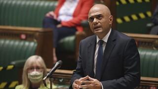 Κορωνοϊός - Βρετανία: Θετικός ο υπουργός Υγείας Σατζίντ Τζάβιντ