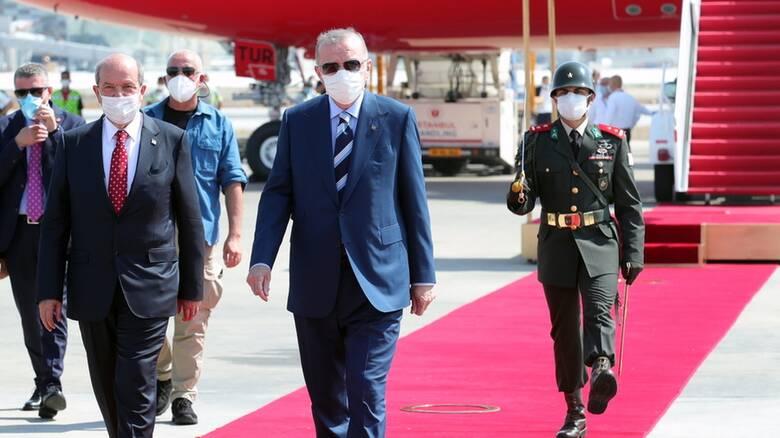 Κύπρος: «Προεδρικό μέγαρο» και «βουλή» ήταν τα «χαρμόσυνα νέα» του Ερντογάν από τα Κατεχόμενα