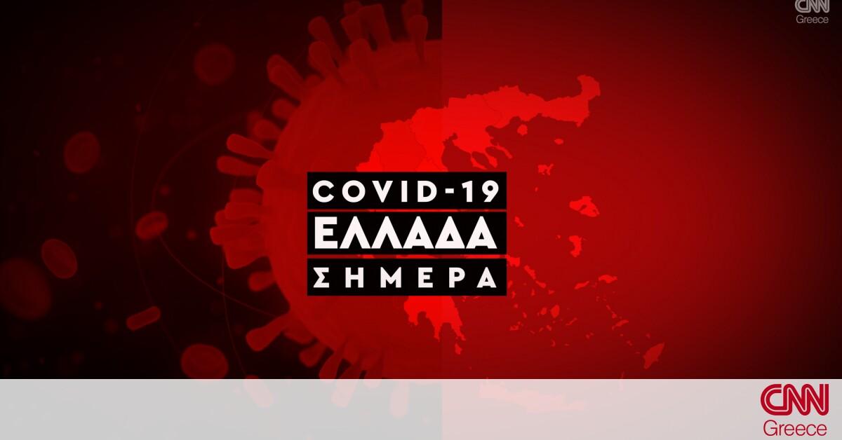 Κορωνοϊός: Η εξάπλωση της Covid 19 στην Ελλάδα με αριθμούς (19/07)